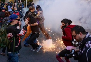 APTOPIX May Day Immigration Marches Washington